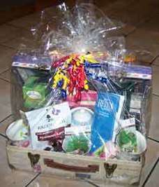 Gift Basket from the Reiki Center